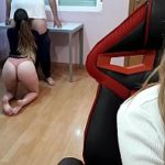 Porno amador com a branquinha fazendo sexo anal