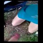 Sexo no mato com a menina da fazenda