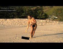 Na praia ana paula minerato pelada