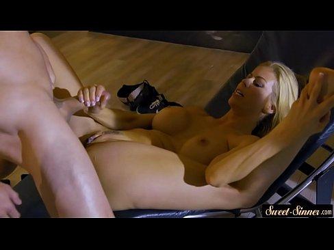 Loira sensacional em vidio de sex no diva