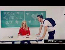Bela professora dando para aluno depois da aula