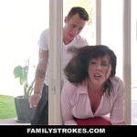 Safada milf bem gostosa no video de mulher nuas dando para dois