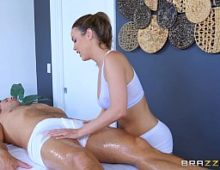 Massagista mulher gozando porno na transa exitante